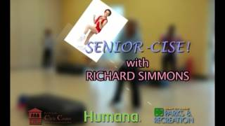 Senior-Cise with Exercise Guru Richard Simmons at the Port St. Lucie Civic Center