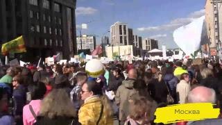 Москвичи против реновации | Прямая трансляция митинга 14 мая
