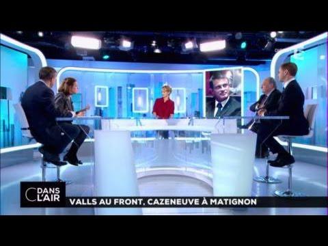 Valls au front, Cazeneuve à Matignon #cdanslair 06-12-16