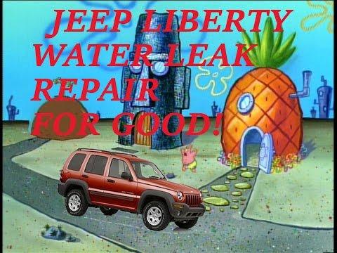 Jeep Grand Cherokee Laredo Rain Water Leak Doovi