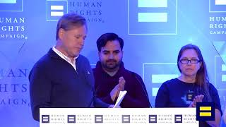 Pulse Survivors And Family Members Join HRC Before March for Our Lives Protest