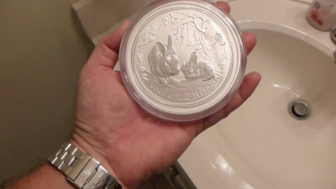 2011 Australian Perth Mint Year Of The Rabbit Lunar