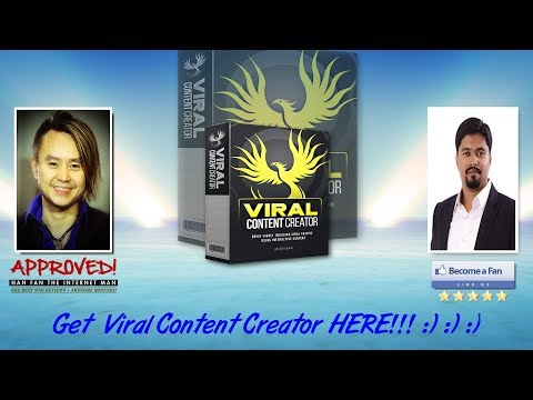 Viral Content Creator Sales Video Preview — get *BEST* Bonus and Review HERE!