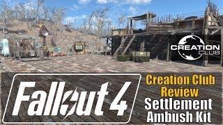 Fallout 4 - Settlement Ambush Kit (Creation Club Review)