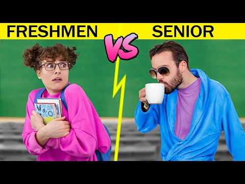 freshman-vs-senior-at-college-/-17-funny-situations-that-everyone-can-relate-to