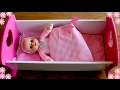 Baby Annabell and Dimples Wooden Rocking Cradle | Baby Dolls Bedtime