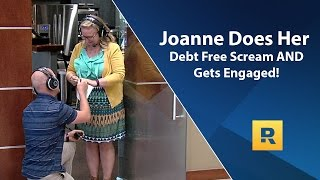 Joanne and John's Debt Free Scream! AND a Surprise Proposal!