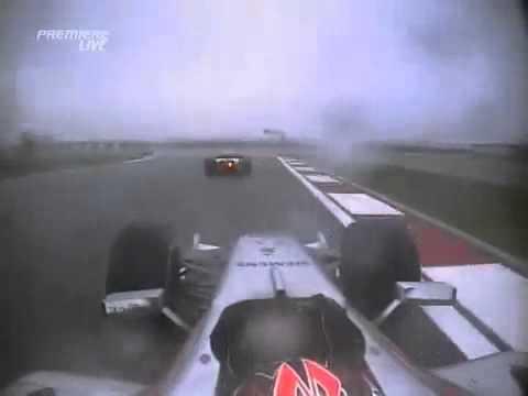 F1 2006 China Onboard Kimi Raikkonen
