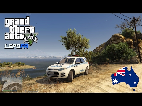 GTA 5 - LSPDFR Australia LIVE! - NEW NSW Police Ford Territory! (GTA 5 Police Mod for PC)