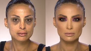 How to cover your Under Eye circles with Samer Khouzami