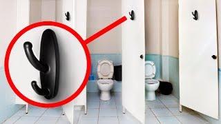 Gdy zobaczysz coś takiego w toalecie publicznej, od razu dzwoń na policję❗️
