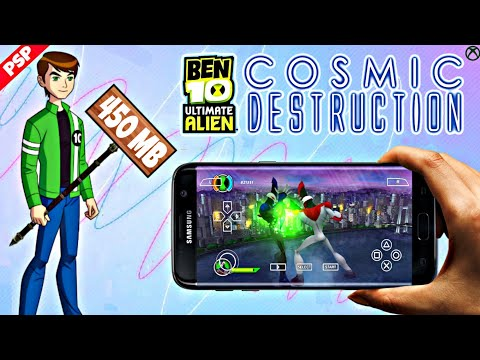 Ben 10 Ultimate Alien : Cosmic Destruction PSP Game Download On Android  By GAMING TECH
