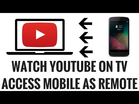 How To control Youtube On TV with Phone, Tablet, Andorid, iphone  or pc pairing