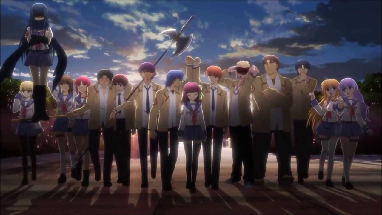 Vichan Angel Beats Ed Brave Song Cover Tv Size Brave Songを