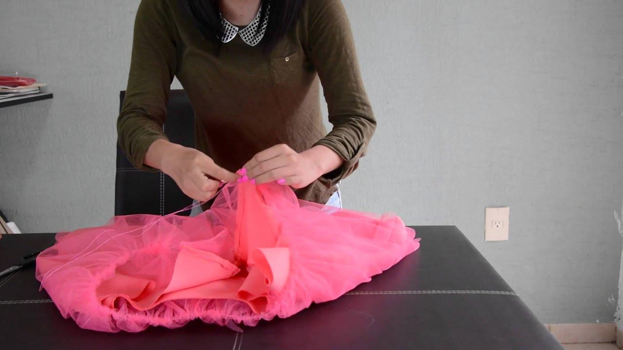 Como hacer una falda de tul youtube - Como preparar unas judias verdes ...
