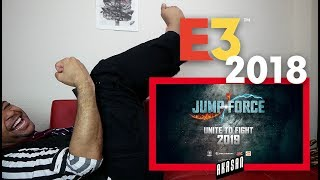 Jump Force Trailer E3 2018 Reaction (That ending though!!!)