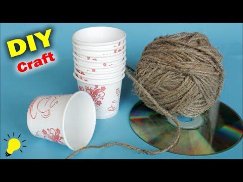 Best out of Waste Idea 2018 || Handmade Craft Idea || DIY Desk Organization || Kids crafts