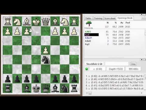 Blitz chess postmortem #415: Scandinavian (center counter) defense