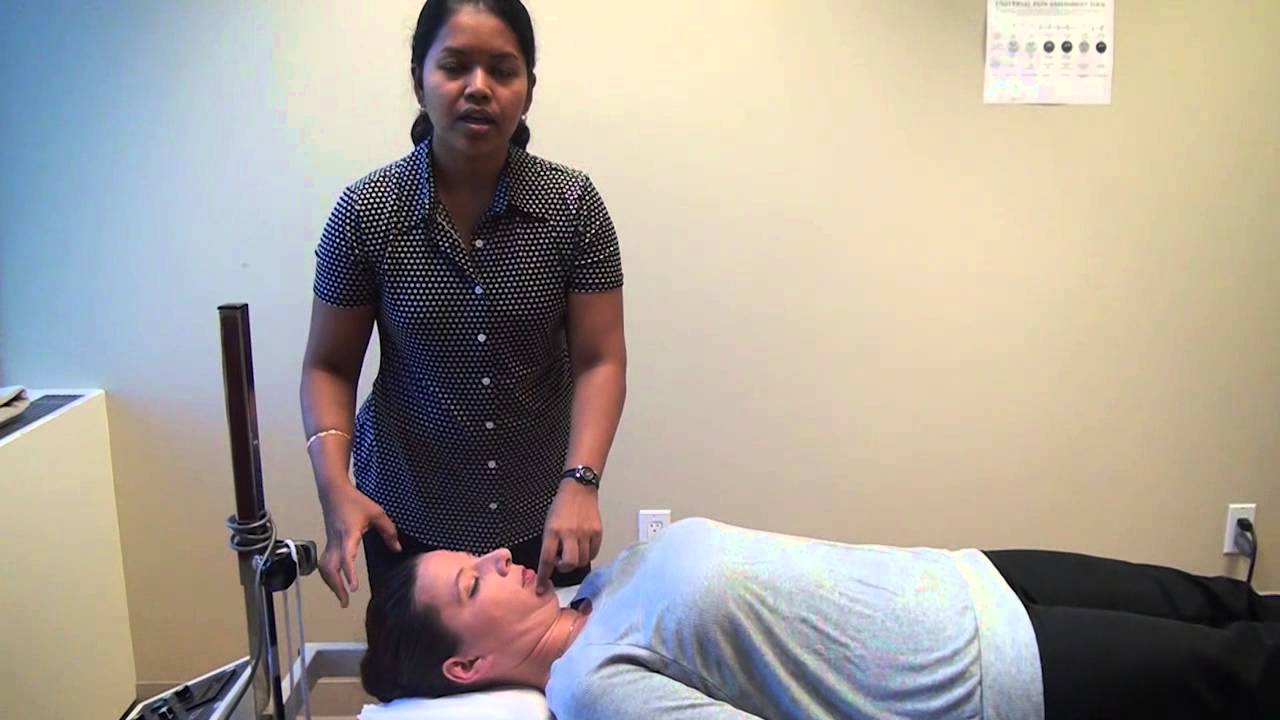 Herniated disc physical therapy - Mckenzie Therapy For Non Surgical Treatment Of The Cervical Herniated Disc Youtube