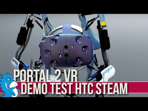 Portal 2 VR  Demo Test for HTC Vive Steam (No Sound)