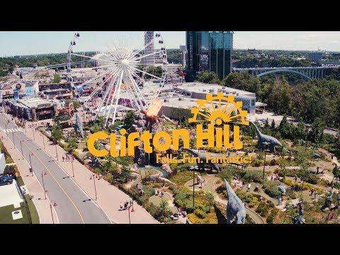 Clifton Hill Niagara Falls Fun Attractions Restaurants
