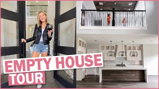 Empty House Tour 2020 | We Built Our Dream Home!