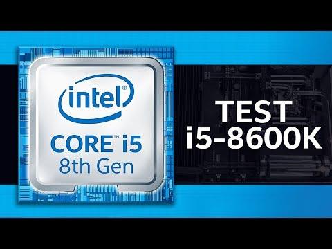 TEST Intel Core i5-8600K - gry/aplikacje/porównanie