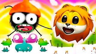 - ПРИКЛЮЧЕНИЯ ЧУЧЕЛ мультик игра для маленьких детей 2 игровой мультфильм 2018 Chuchel Летсплей