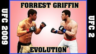 FORREST GRIFFIN evolution [UFC 2009 UNDISPUTED - UFC 2]