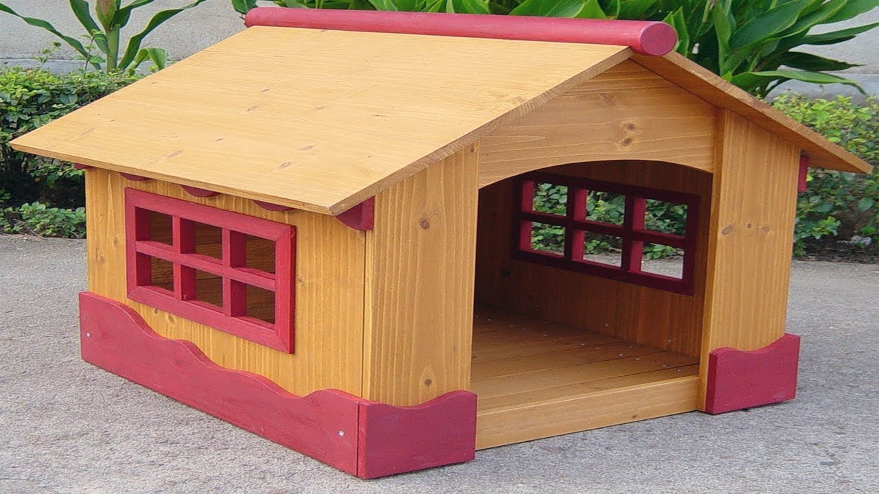 beautiful dog house plans