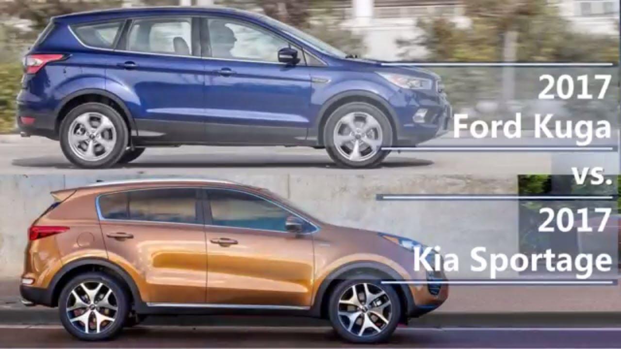kuga vs tucson 2019
