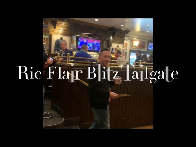 Ric Flair Super Bowl Tailgate Party