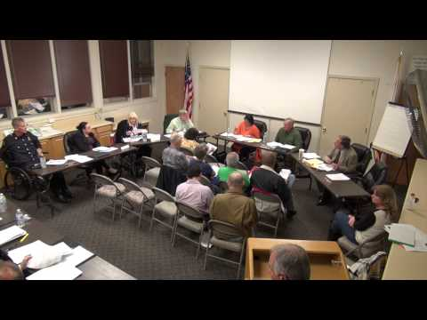 March 17, 2015 Board Meeting
