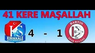Kırıkkalespor Bartınspor Bölgesel Amatör Lig BAL Karşılaşması Özet ve Tüm Goller
