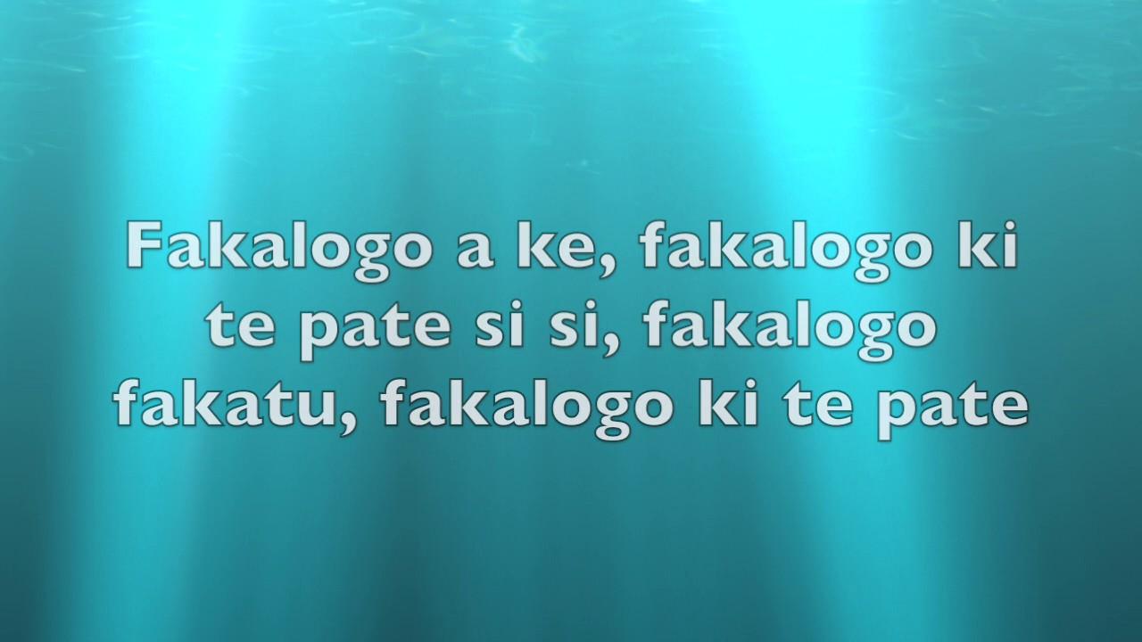 Logo Te Pate Lyric Video