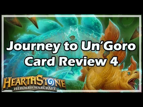 [Hearthstone] Journey to Un'Goro Card Review 4