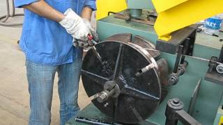 WIRE SPOOLING MACHINE FOR SAW.avi