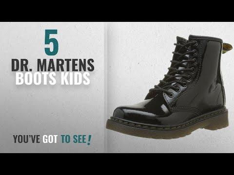 Top 10 Dr. Martens Boots Kids [2018]: Dr. Marten's Brooklee Patent, Unisex-Child Boots