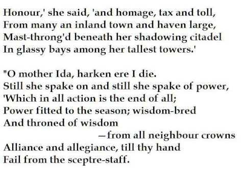 """Oenone"" by Alfred, Lord Tennyson (read by Tom O'Bedlam)"