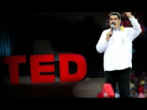 """Charla motivacional de Maduro, """"Un nuevo comienzo para la revolución""""."""