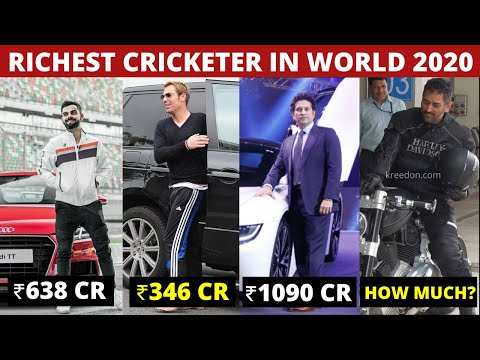Richest Cricketers | Top 10 Richest Cricketers in the World | Net Worth | Updated 2019