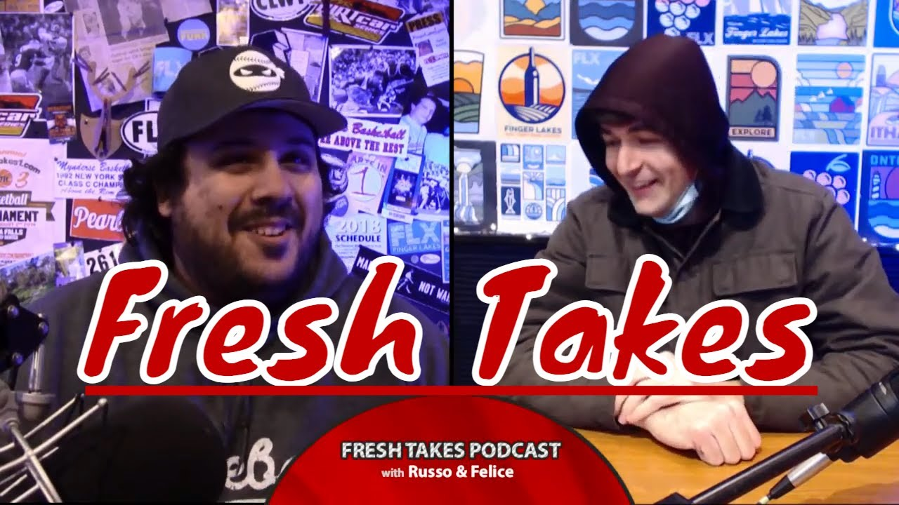 FRESH TAKES: Pitchers & catchers report, hoops talk, Daytona recap (podcast)