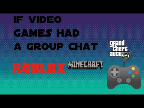 If Video Games Had A Group Chat Ep 1