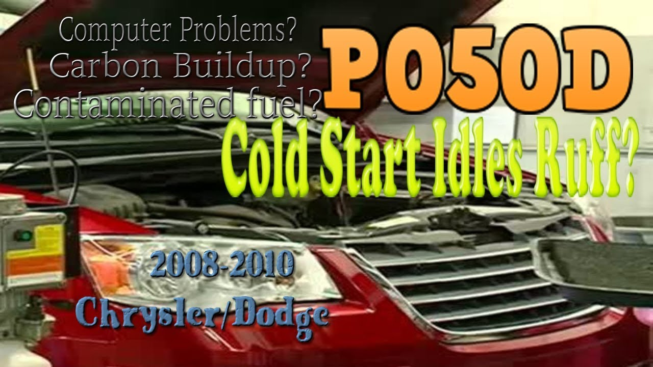 P050d Cold Start idle problems discussed  Runs rough cold