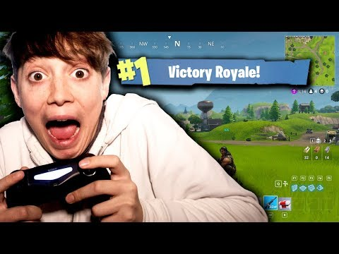 I CAME FIRST IN FORTNITE BATTLE ROYALE!!??