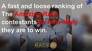 How Do The Amazing Race Contestants Rank