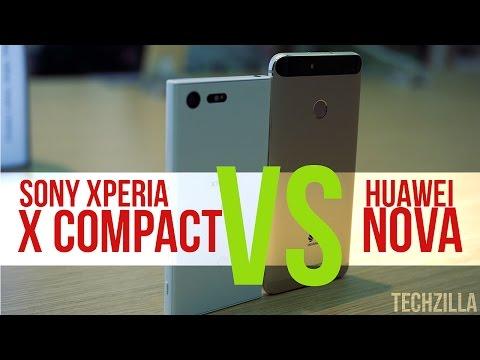Sony Xperia X Compact Vs Huawei Nova | IFA 2016
