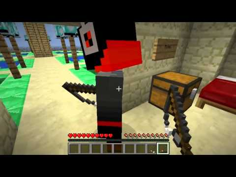 Minecraft co-op /w oNNe, Alex, Baciu | King of the ladder | part #1