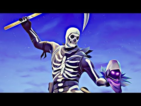 Download Skull Trooper 4K 8K HD Fortnite Battle Royale Wallpaper 🔥