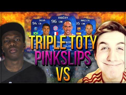 INSANE TOTY PINK SLIPS | KSI Vs MattHDGamer (FIFA 14)